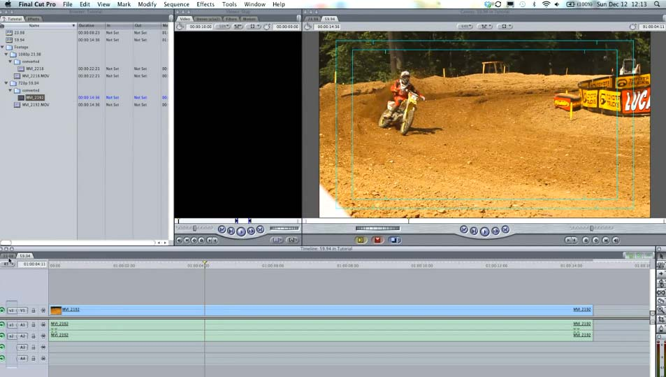 How to convert Canon 7D footage in Final Cut Pro