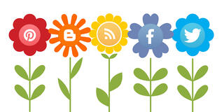 Growing Social Media Icons