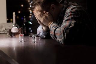 Sad Drunk At The Bar