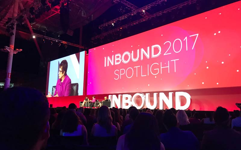 Billie Jean King at Inbound 2017