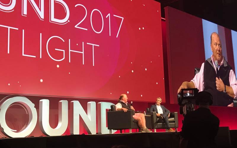 Mario Batali at Inbound 2017