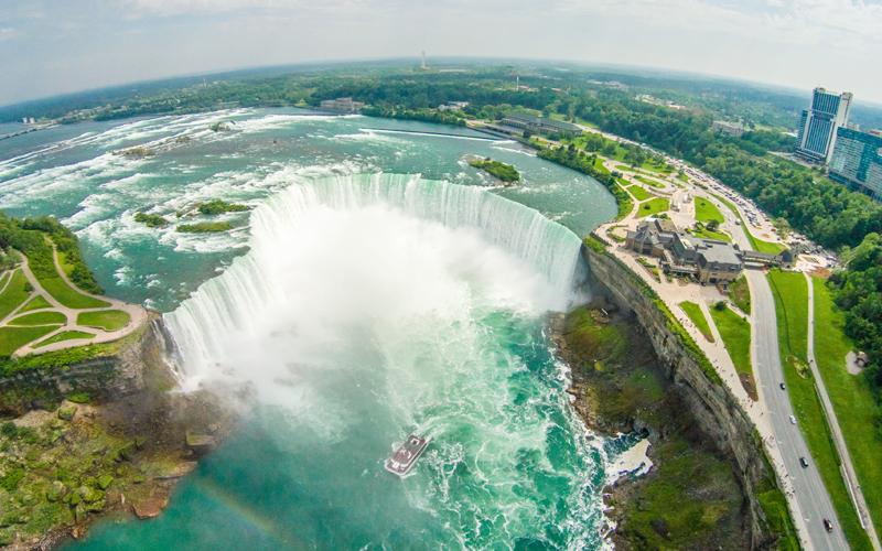 Niagara Falls Aerial Photo